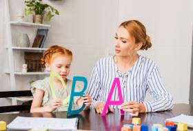 Dysleksja – nauka liter przez zabawę